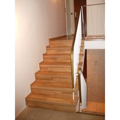 Treppe mit Eichen Holz Stufen