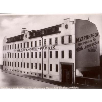 Schiebefenster - Fabrik um 1914